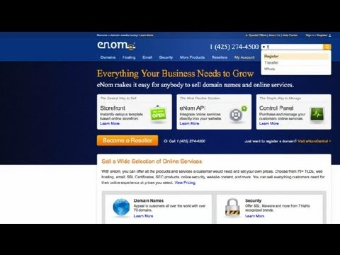 How to Register a Domain Name : How to Register a Domain Name