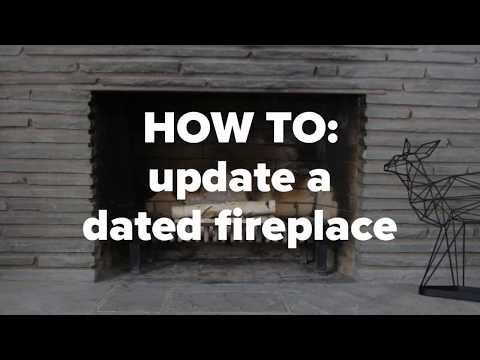 Learn How to Remove an Outdated Fireplace Surround