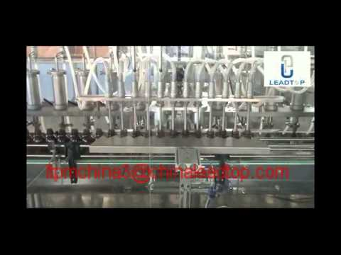 LTXG 12 Filling Nozzles Automatic Liquid Filling  Production Line for Syrup,Suspension
