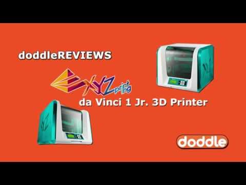 Doddle REVIEWS: XYZ da Vinci 1 Jr. Printer Time Lapse