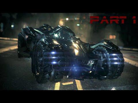 Batman Arkham Knight walkthrough Part 1  (PS4, XBOX, PC)