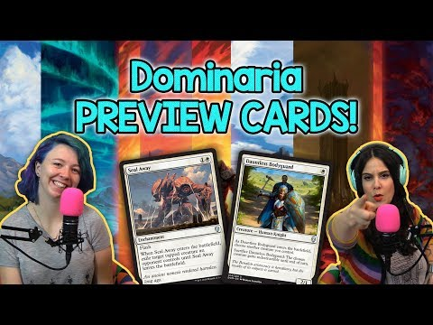 **EXCLUSIVE** Dominaria Preview Cards! Spoilers ahead! + Standard Update | Magic the Gathering