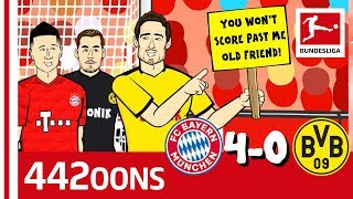 FC Bayern München vs. Borussia Dortmund | 4-0 | Der Klassiker - Highlights Powered by 442oons
