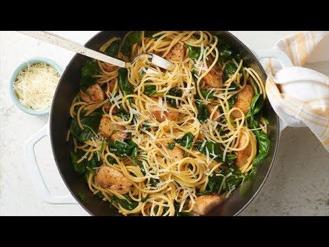 One-Pot Lemon-Pepper Chicken Pasta   Betty Crocker Recipe