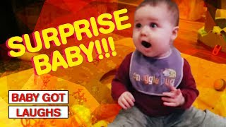 You Will LOL At These Babies Shocked Faces! | Hilarious Baby Reactions!