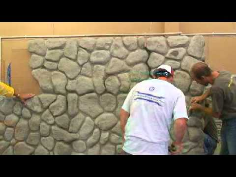 3 day class building with faux rock -  2.03 - 888-684-0086