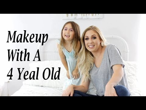 Four Year Old Doing Makeup   Shannon Eason