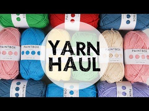 Yarn Haul - Paintbox Yarns | Croby Patterns