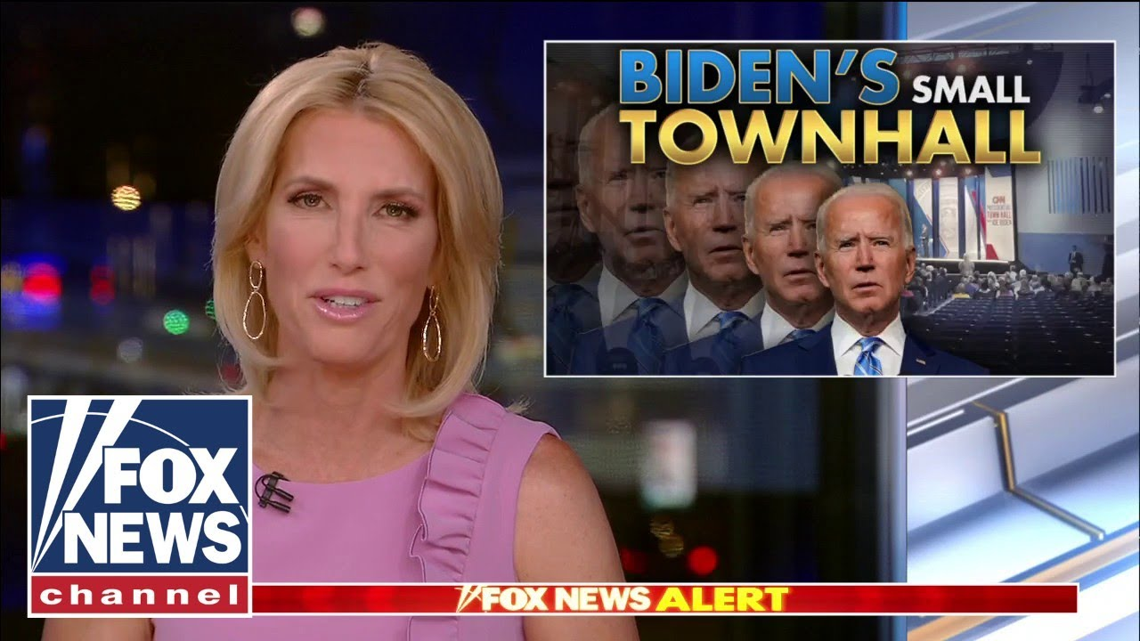 Ingraham: CNN's 'tiny' Biden town hall was a sad 'exercise of fawning and futility'