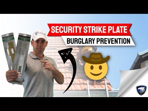 Defiant/Prime-Line U 10385 Door Strike - Door Strike Plate, Door Security Plate