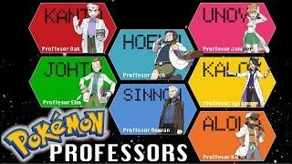 Pokémon Professors