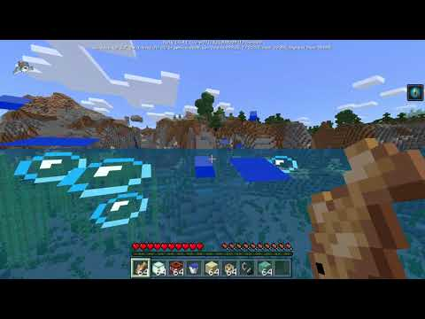 Minecraft 1.5.0.1- Conduits (+Dolphins)  Update Aquatic Bedrock