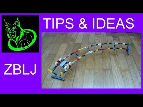 TIPS & IDEAS: Lego roller coaster idea