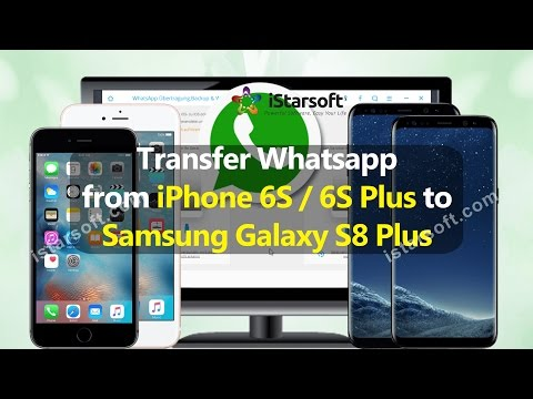 Transfer Whatsapp from iPhone 6S/6S Plus to Samsung Galaxy S8 Plus