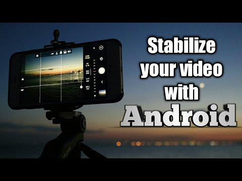 How to Stabilize your shaky videos with Android in 1 minute ✓