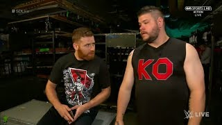 Reason Why Kevin Owens And Sami Zayn Were Kicked Off And Sent Home From WWE UK Tour