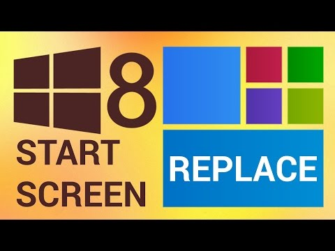 How to Replace Start Screen in Windows 8