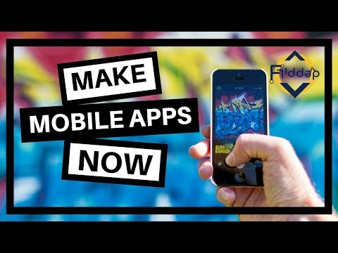 How to create Mobile apps with your students