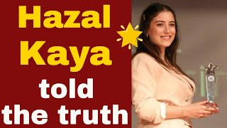 Hazal Kaya told why Bizim Hikaye makes the final