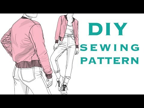 Design a Bomber Jacket Sewing Pattern