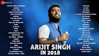 Arijit Singh in 2018 - Audio Jukebox | 47 hit songs