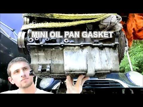 MINI Cooper Oil Pan Gasket Replacement