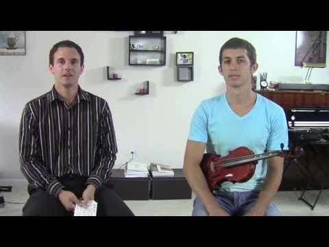 Music Theory On Violin Major and Minor Keys HD