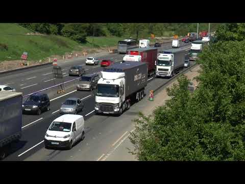 CRAWLING LORRIES M6 MIDDLEWICH MAY 2018  g