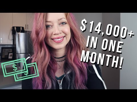Make Money Blogging: How I Made $14,199.99 Last Month! (JULY 2017)