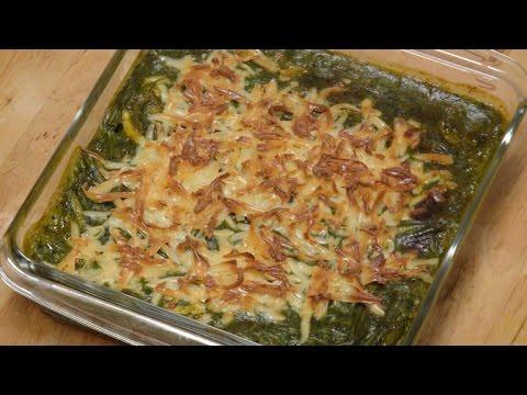Baked Vegetables in Spinach Sauce | Sanjeev Kapoor Khazana