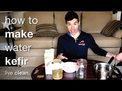 How To Make Probiotic Water Kefir