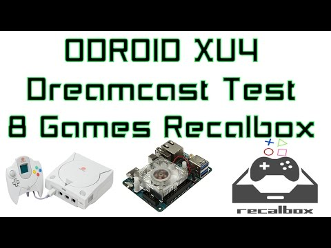 Odroid XU4 Dreamcast Emulator 8 Games Tested With Recalbox