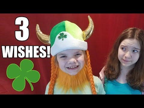 Three Wishes Leprechaun St. Patrick's Day! | Babyteeth More!