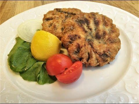 HAMSI BURGER RECIPE - Fresh Anchovy Burgers