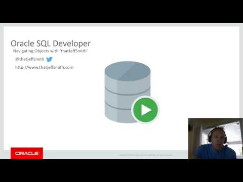 Quickly Navigating Between Objects in Oracle SQL Developer