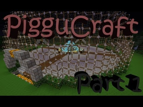 Minecraft Let's Build A Server: Part 1 - Welcome to PigguCraft!