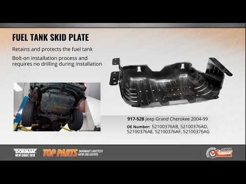 1999-2004 Jeep Grand Cherokee Fuel Tank Skid Plate Dorman Products 917-528