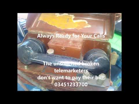 The Broken telemarketers don't want to pay Bill