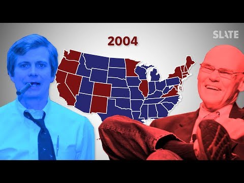 Why Democrats Are Blue and Republicans Are Red—and Why It's the Opposite Everywhere Else