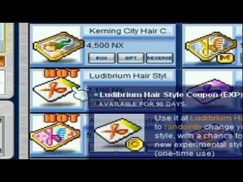 [ MS ] ✰♡ Ludibrium EXP Hair~ ✰♡