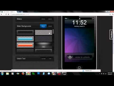 How To Make Your Own Winterboard Theme! (iPod/iPhone)