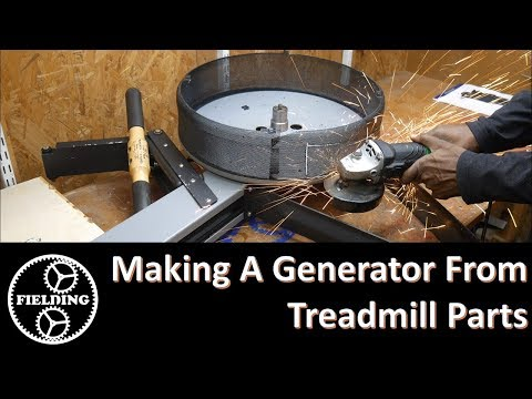 056 Building a Prototype Generator From Treadmill Parts, and Channel Update