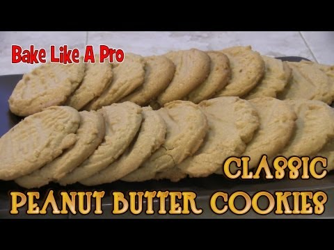 How To Make Classic Peanut Butter Cookies Recipe