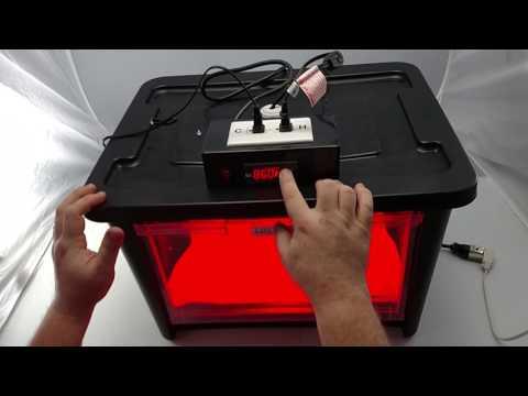Large Hinged Door Heat Lamp Incubator Hookup Instructions (2016 models)