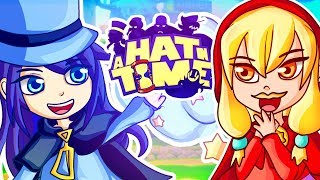THE EVIL FUNNY MUSTACHE GIRL! (A Hat in Time)