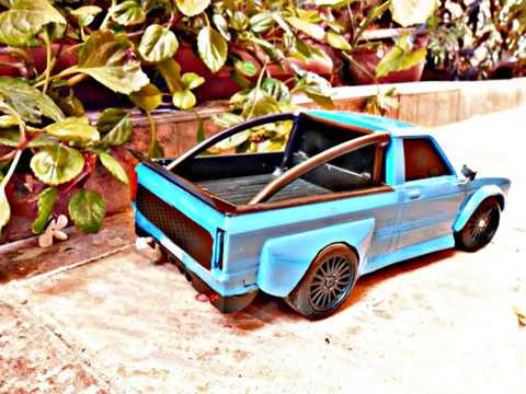 1/16 Rc JDM Truck WideBody Kit RC Project