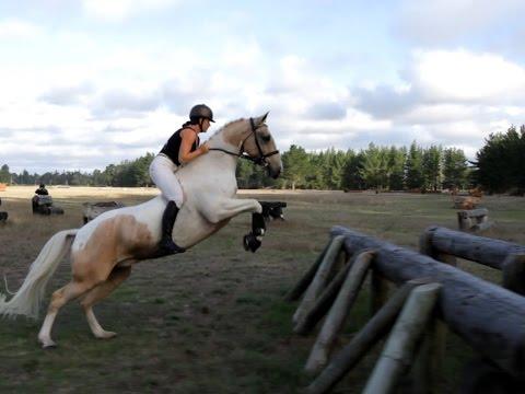 Huge bare back jumping - Free Riding - Alycia Burton - Go Pro 1080p