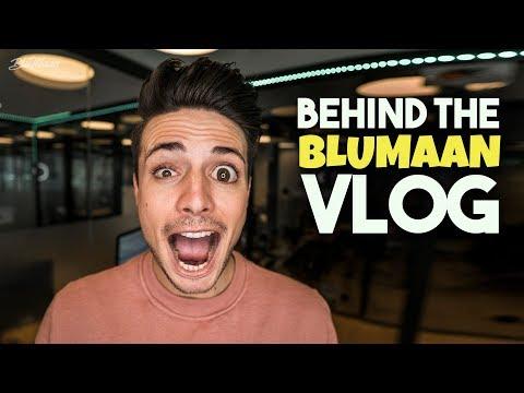 Behind The Scenes Of A YouTuber | Behind BluMaan 2018