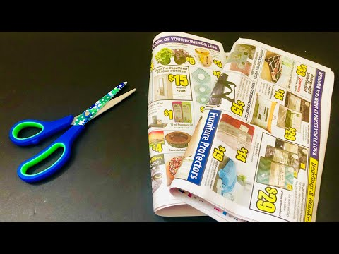 DIY EASY NEWSPAPER CRAFTS IDEAS - TOP 6 NEWSPAPER EASY CRAFTS TO MAKE - cool and creative