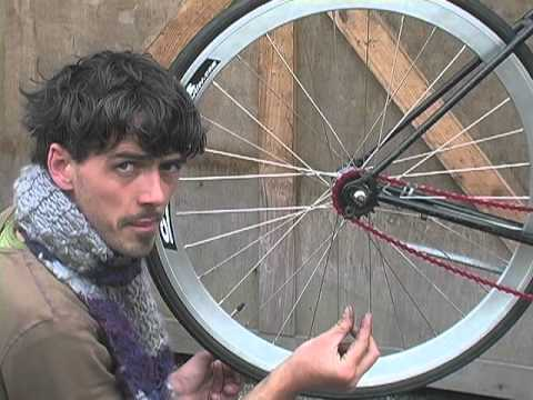 How to Build a Single Speed Bike #12-Tension Your Single Speed Chain